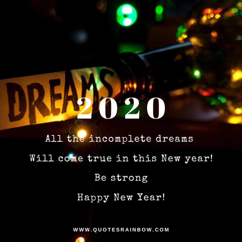 New year quotes for 2020