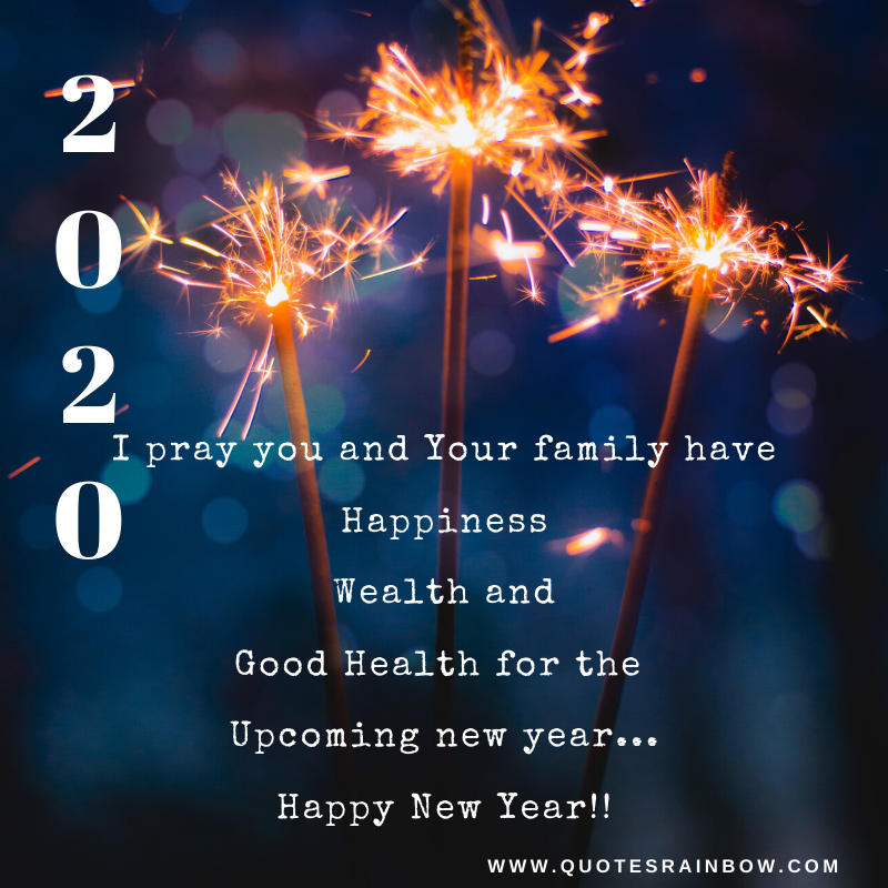 Happy New Year to you and your family quotes