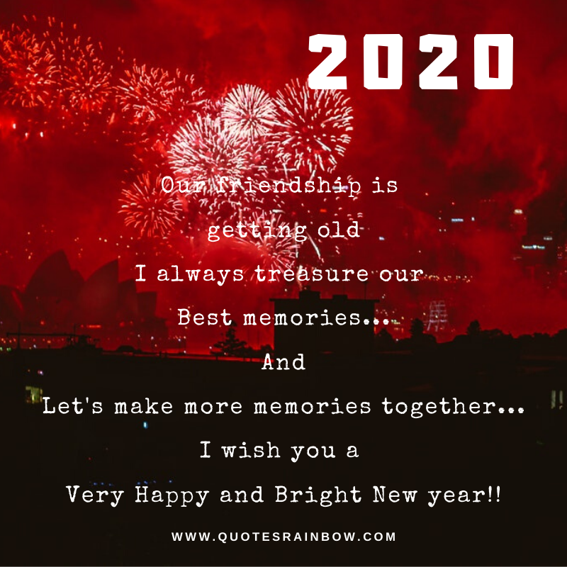 Happy and Bright New Year 2020 quotes