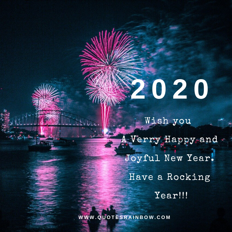 Have a rocking new year 2020 quotes