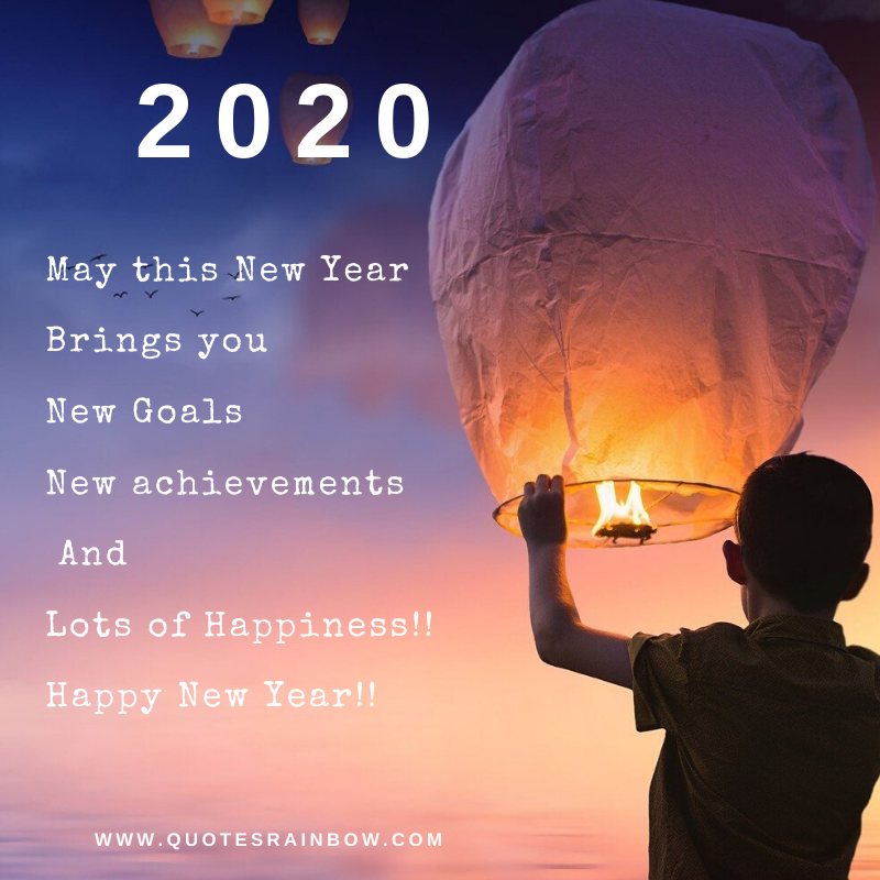 2020 Happy New Year wishes whatsapp quotes