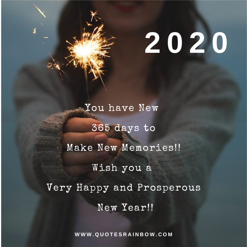 2020 New year quotes