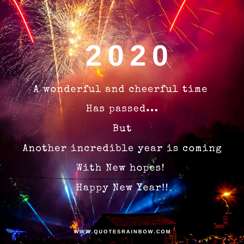 New hopes in 2020 quotes