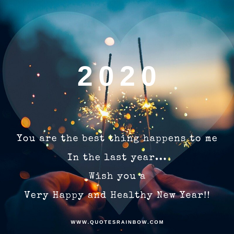 New Year quotes for love 2020