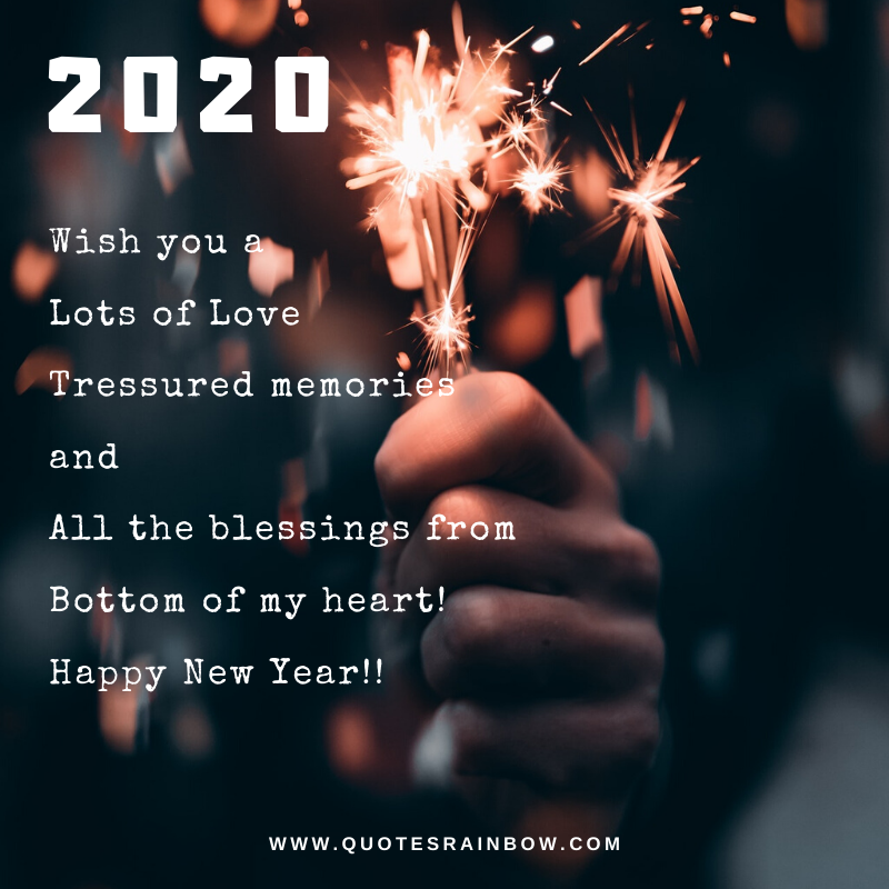 Lots of love new year quotes 2020