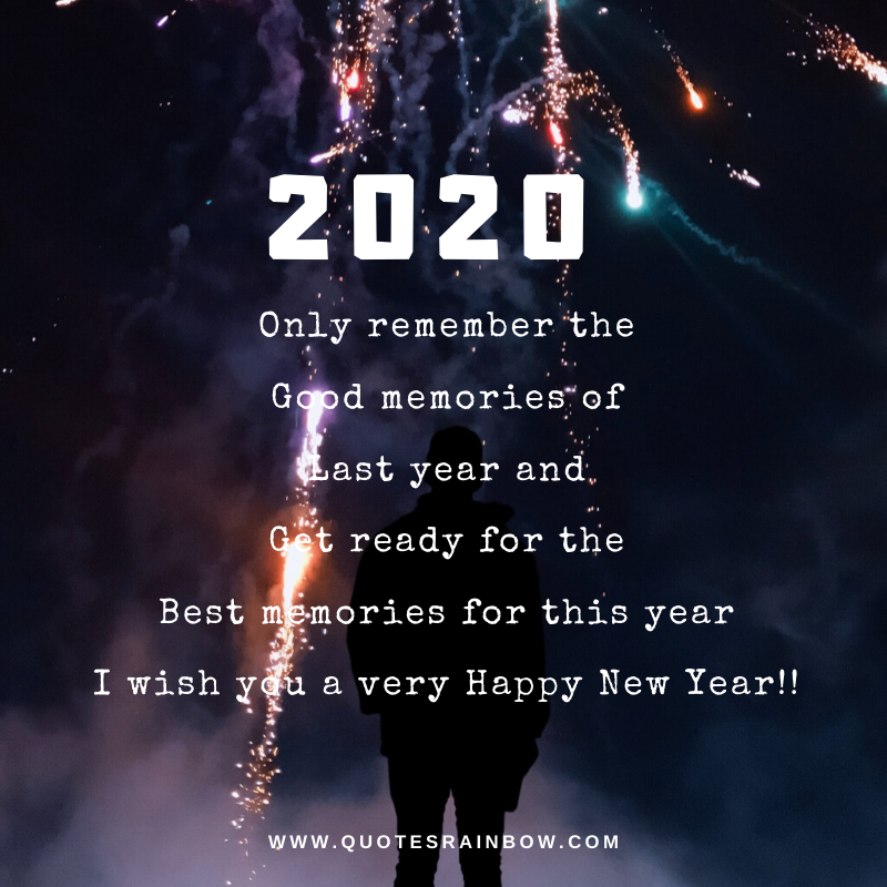 Very happy new year quotes 2020