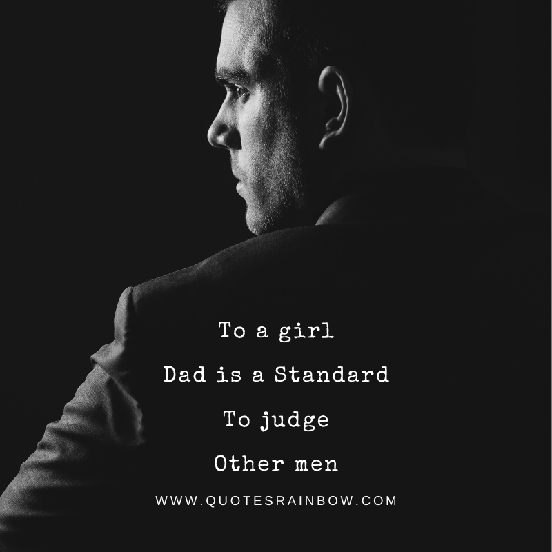 Standard to judge other men quotes