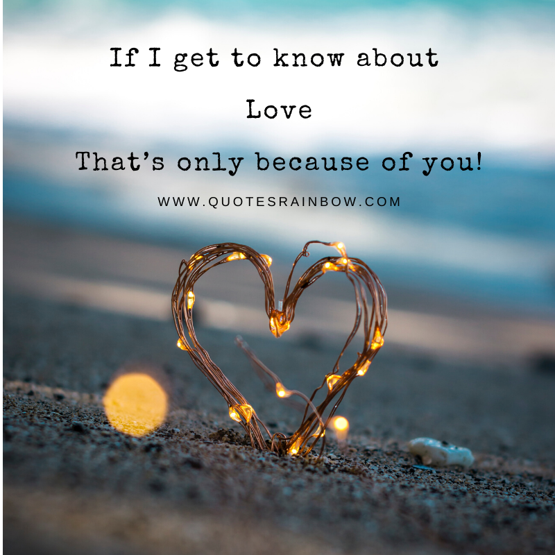 Get to know about love quotes