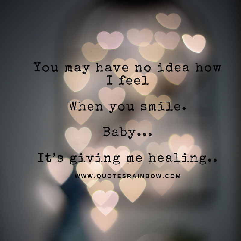 It's giving me healing love quotes